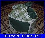 I lavoretti di Monica - cucito creativo-cestino-verde-jpg