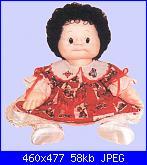 Come creare bambole di stoffa: corpo realistico, ombelico, sederino, mani e piedi.-baffy-jpg