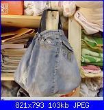 borsa in jeans Dolce&Gabbana-sac24-jpg