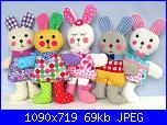Schemi semplici di pupazzi di stoffa-ragtaggle-rabbits-jpg