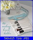Come creare un porta pennelli ... aiuto!-fabric-makeup-brush-holder-cg-jpg