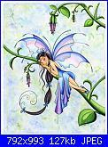 Beauty and the Beast Falling in Love - Thomas Kinkade-tahliana-flower-jpg