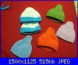cappellino e scarpine prematuri - schema-dsc03583-jpg
