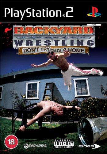 backyard wrestling 2 cover backyard wrestling