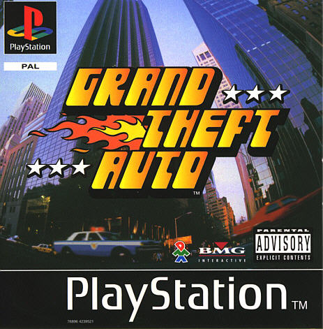 Grand Theft Auto Playstation One - PSX - Arena80