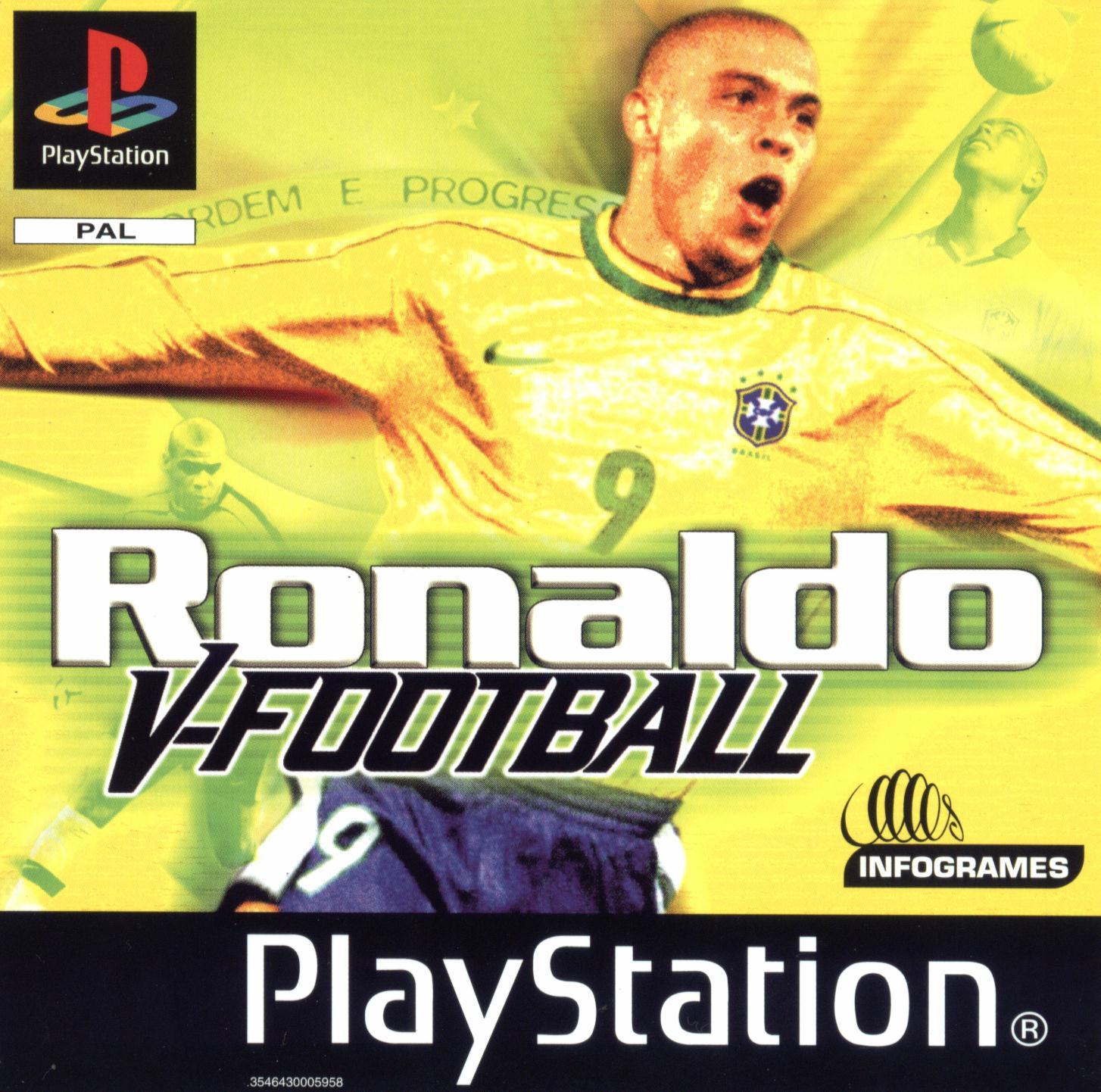 Ronaldo V-Football (Playstation)