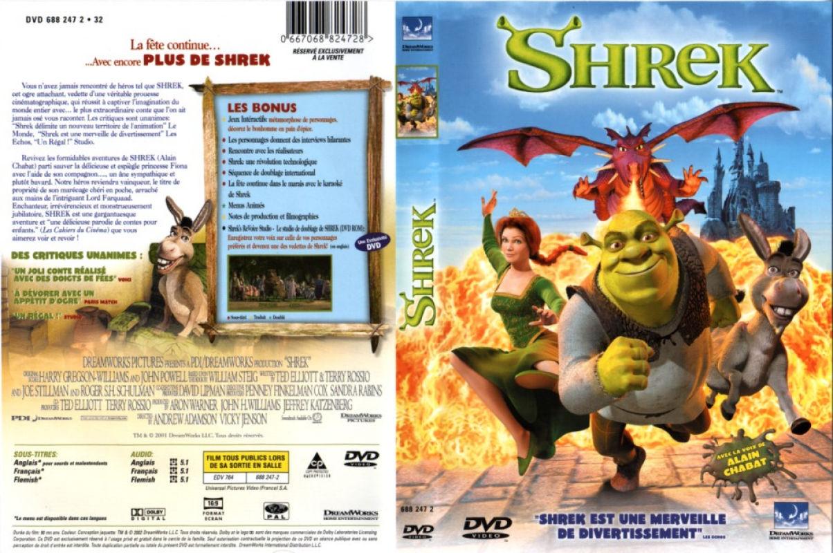 """2001 """"Shrek"""" VHS / DVD commercials - YouTube"""