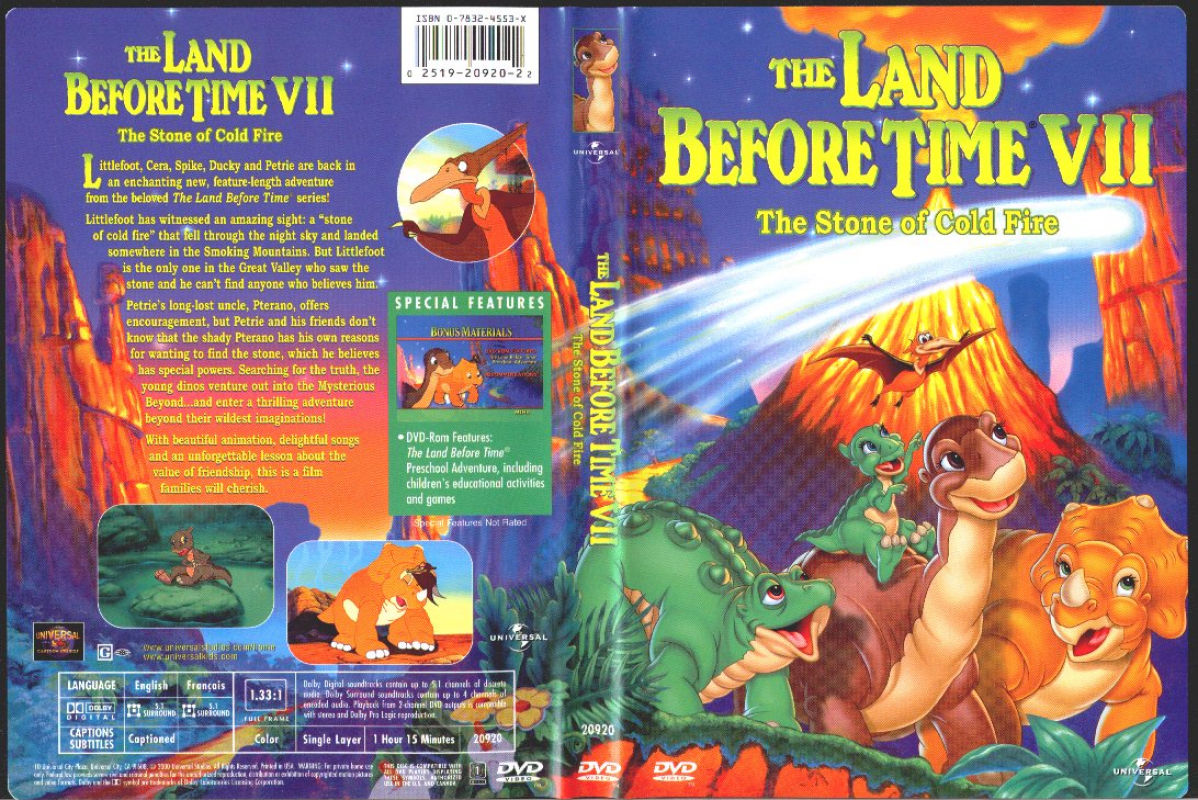 The Land Before Time V The Mysterious Island