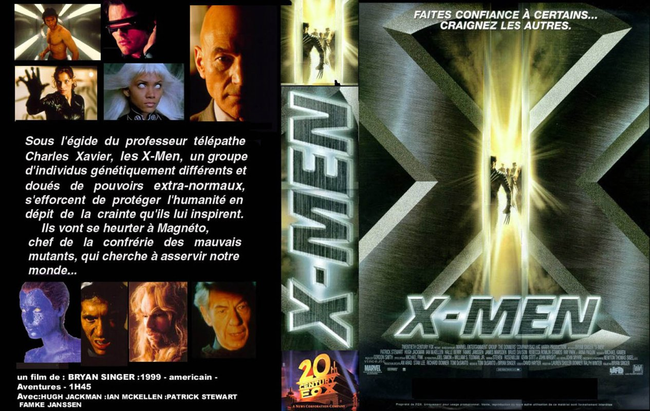 "X Men Dvd Cover: =>Mondo Blu: COVER DVD FILM ""X"""