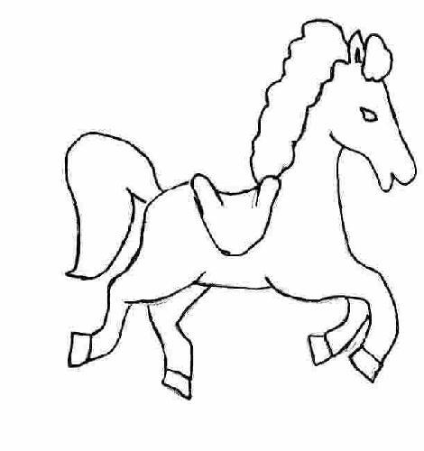 I disegni per bambini cavalli by for Disegno cavallo per bambini