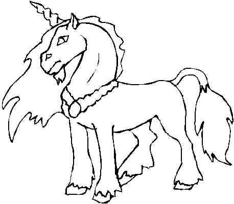 I disegni per bambini unicorno by for Immagini cavalli da disegnare