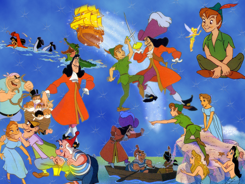 Wallpapers screen saver sfondi gratis cinema peter pan by