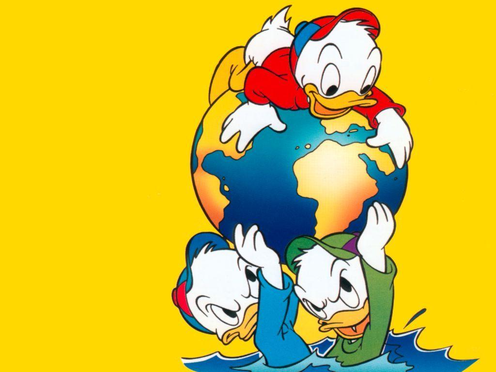 Disney Huey Dewey Louie Cartoon