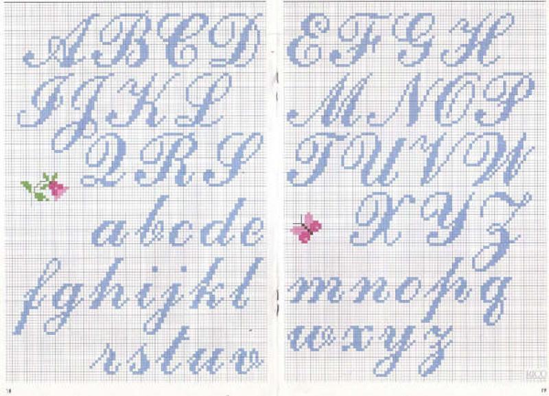 Clicca qui sul nome alfabeto Corsivo o sullimmagine per ingrandire lo ...