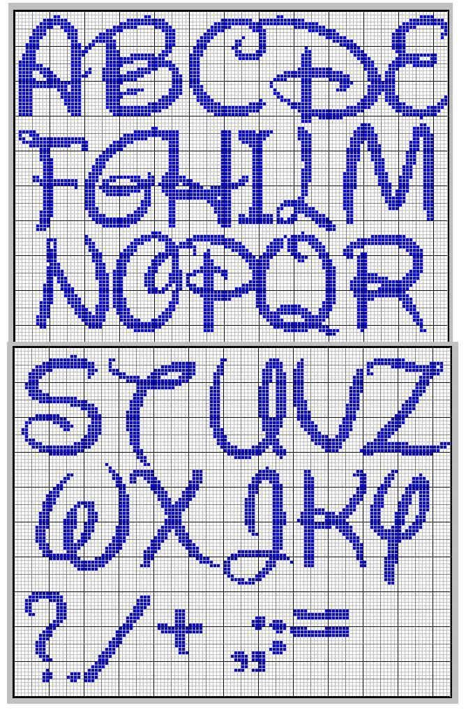 Preferenza Alfabeti punto croce Bambini, Waltograph e foglioline SW04