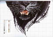 Вышивки крестом схемы страшные 112
