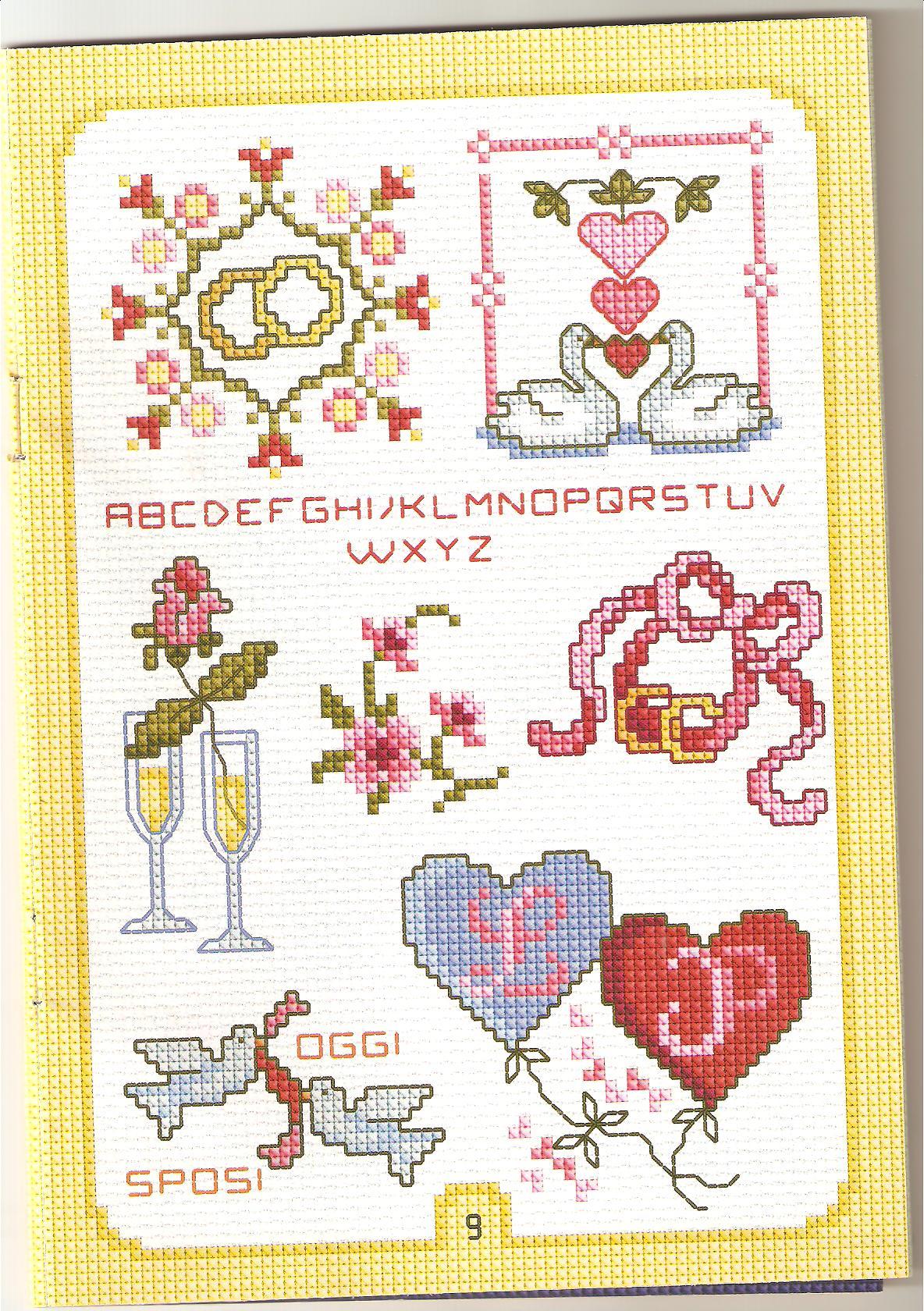 abbastanza punto croce Matrimonio 56 RK28