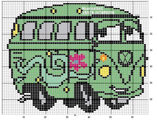 Schema punto croce Camioncino