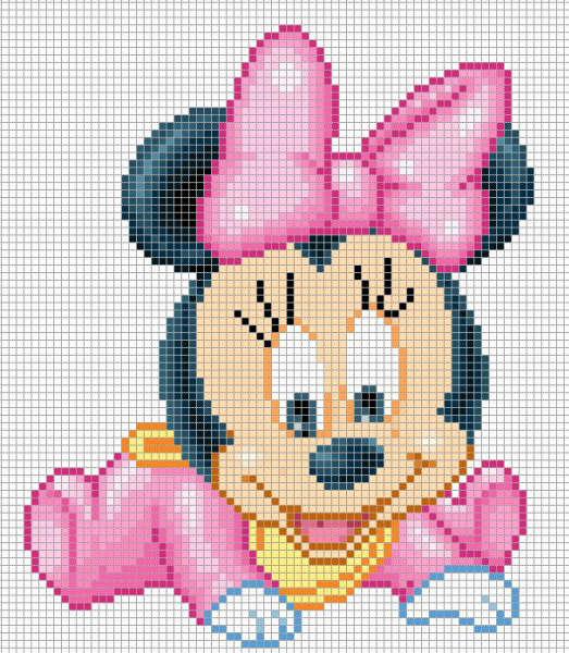 Schemi Punto Croce Luca 2 Baby Disney Orsetto