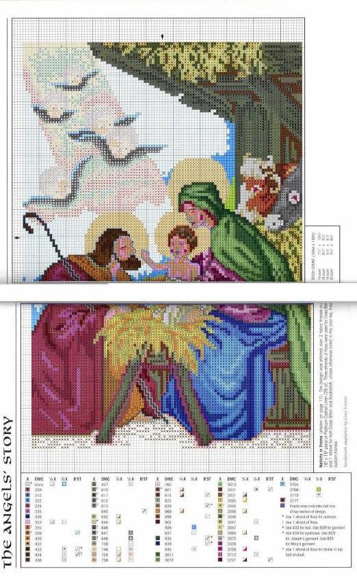 Schemi punto croce immagini