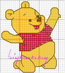 Schemi punto croce harry potter e winnie the pooh for Winnie the pooh punto croce schemi