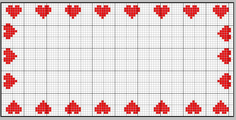 Schema vuoto per punto croce fare di una mosca for Immagini punto a croce