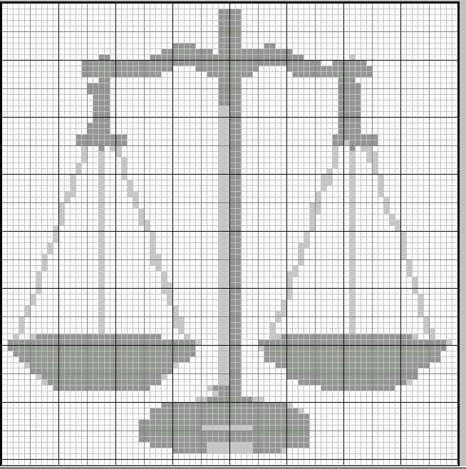Bilancia Della Giustizia Per Un Segnalibro