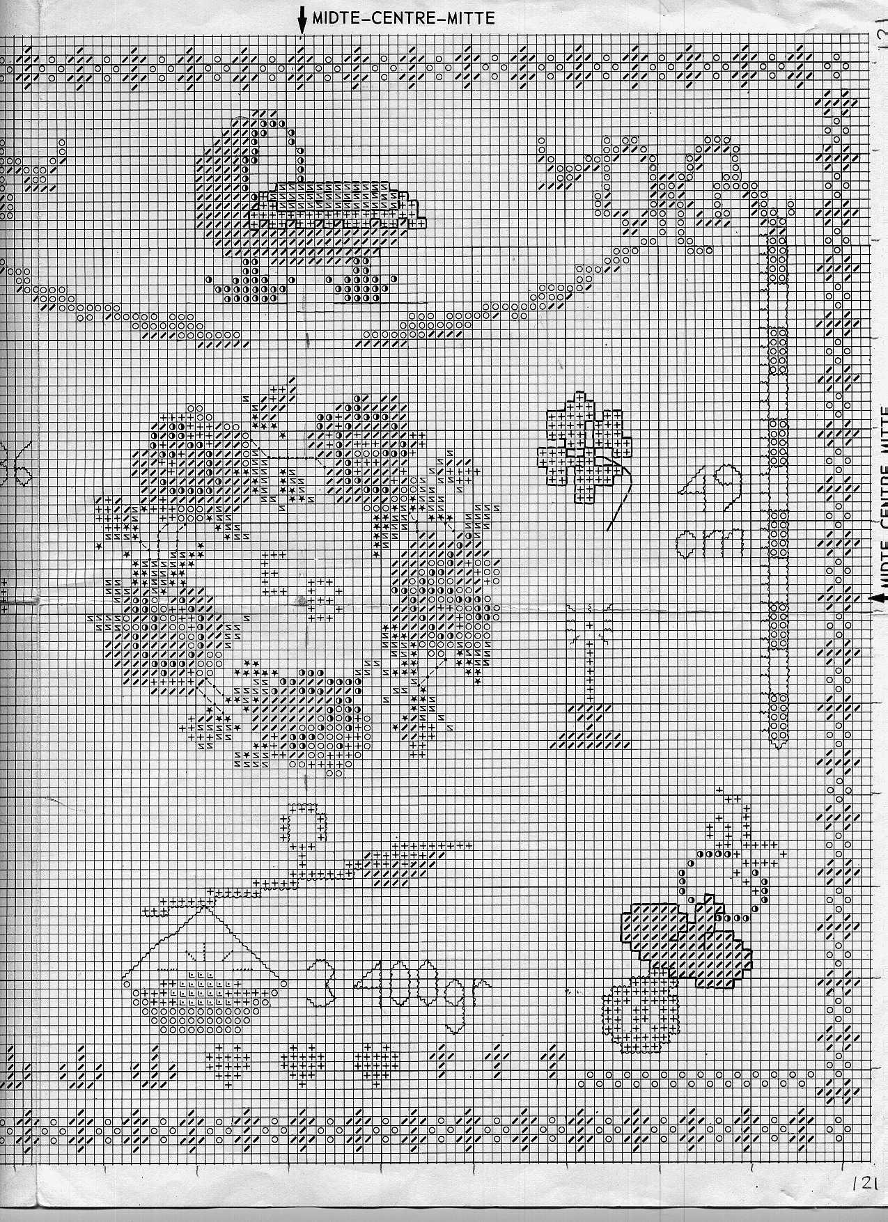 Schema punto croce quadretto nascita fare di una mosca for Quadretto nascita punto croce