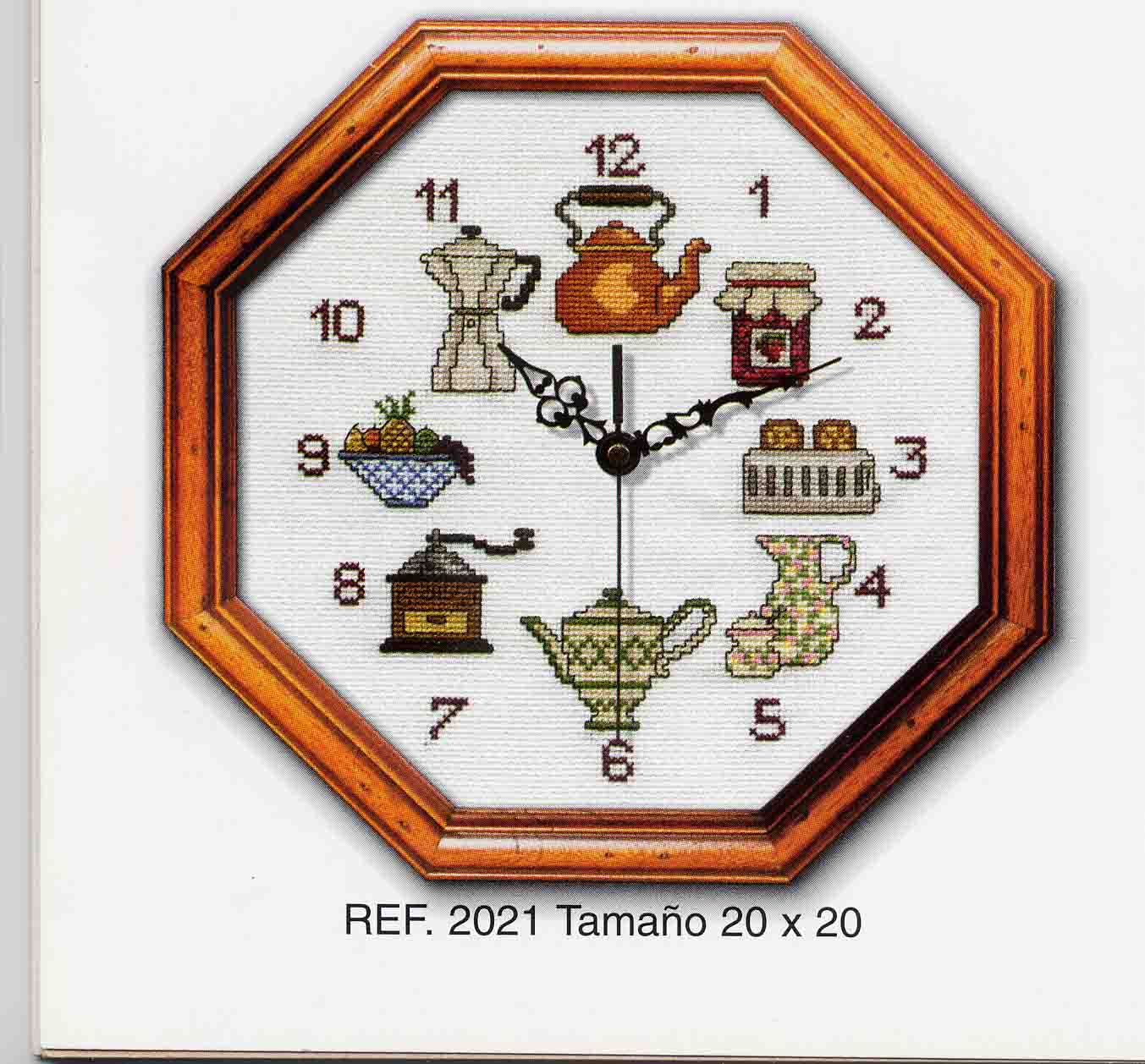 Schema punto croce orologio utensili a for Orologio punto croce schemi gratis