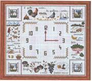 Schemi punto croce orologi schemi 65 for Orologio punto croce schemi gratis