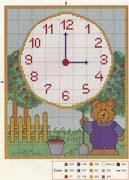 Schemi punto croce orologi schemi 118 for Orologio punto croce schemi gratis