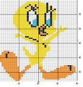 Schema punto croce non piccola Titti