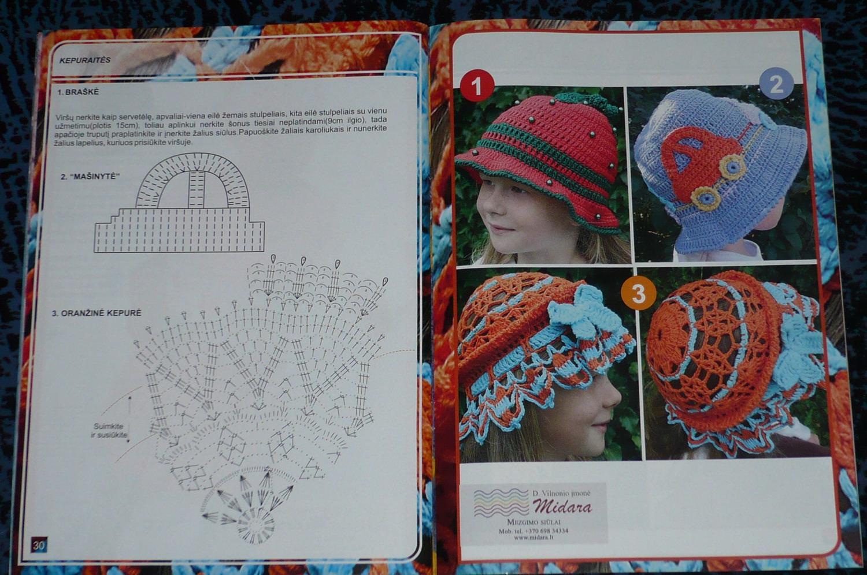 Modellini Cappelli0 Schema all'Uncinetto